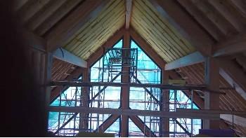 无锡木结构建筑铝木门窗工程