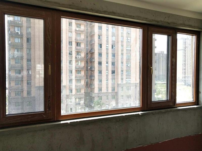 核电专家村铝包木窗1