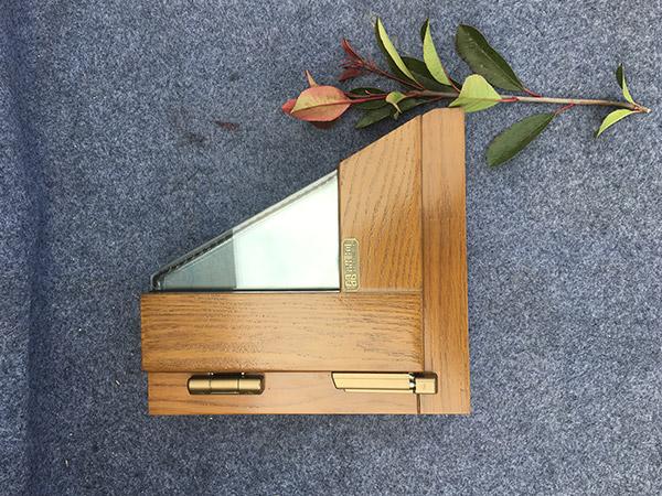 防尘静音铝包木窗86